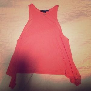 Mellon pink tank top for beach